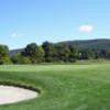A view of a green at Blue Fox Run Golf Club