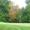 A view of a hole at Lyman Orchards Golf Club