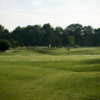 A view of the 1st green at Franconia Golf Course