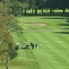 A view of a green at Amesbury Golf & Country Club