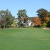 A view of green #8 at Derryfield Country Club