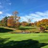A fall day view of a hole at H. Smith Richardson Golf Course (Cathy Rondano Curley)