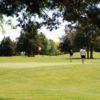 A view of a hole at Cedar Ridge Golf Course.