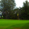 A view of hole #1 at Lisbon Village Country Club.
