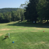 A view from a tee at Ashfield Community Golf Course.