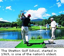 the Stratton Golf School