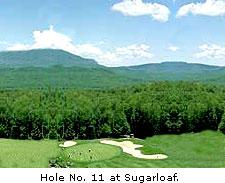 No. 11 at Sugarloaf Golf Club